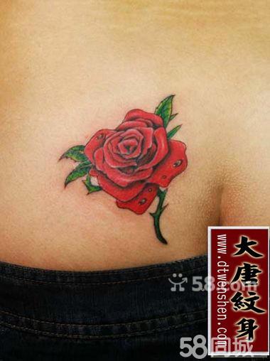 佛手印花纹身分享展示