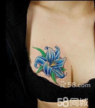 百合花纹身