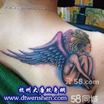 堕落天使撒旦纹身_纹身图案大全图片分享图片图片