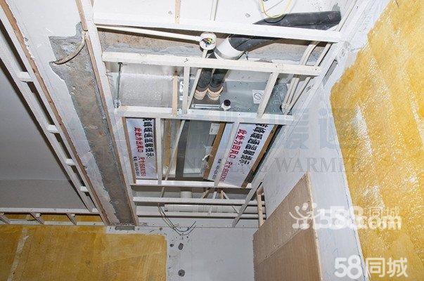 中央空调室内机安装展示