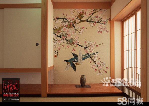 南京神笔马良墙绘壁画金箔画艺术