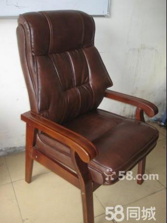 5866实木老板椅