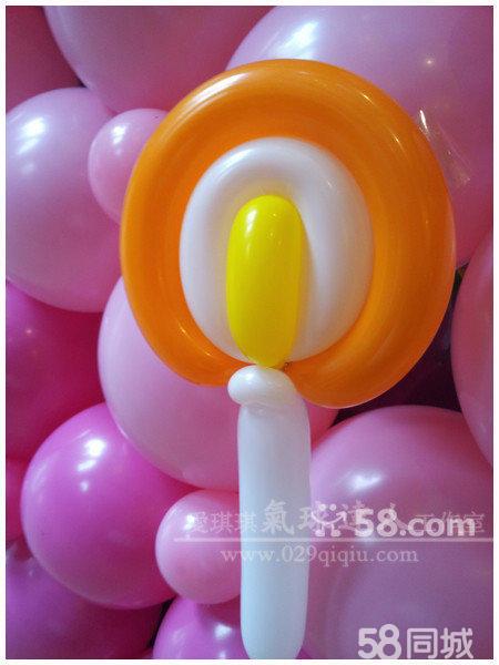 棒棒糖气球造型