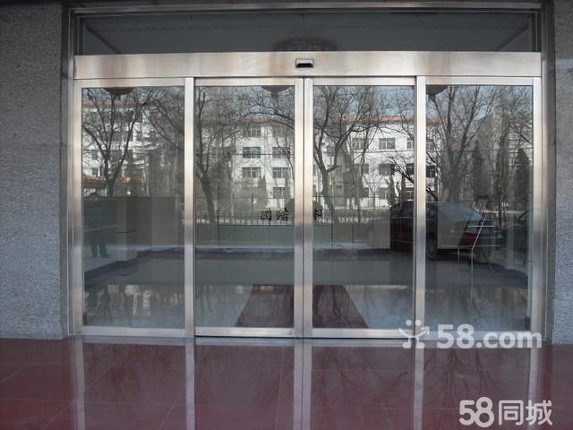 不锈钢玻璃门维修自动门价格玻璃隔断