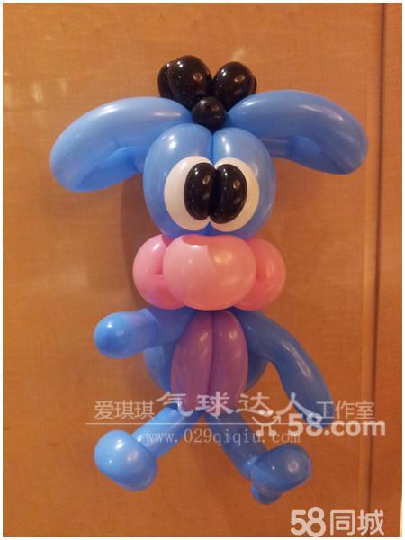 报纸糊气球动物造型