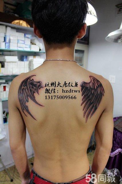 纹身 杭州纹身 男生纹身