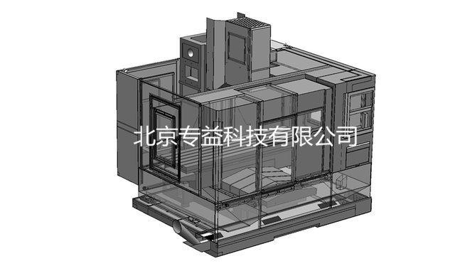 加工中心钣金外观结构设计