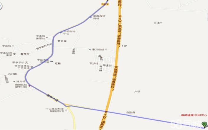 惠州团购 团购  广州南站(番禺站)乘坐轻轨到珠海北站,然后打车约15
