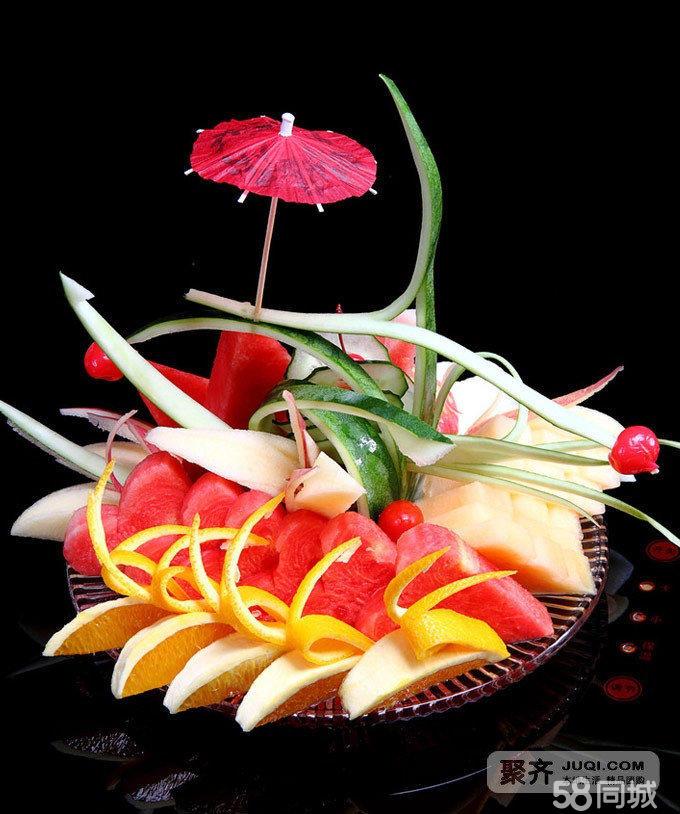 蔬菜水果拼盘动物立体