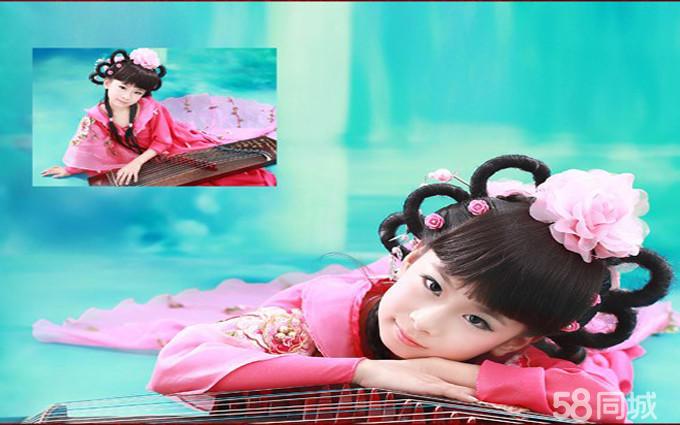 小仙女古装儿童摄影