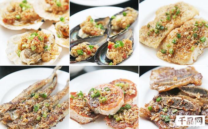 美味海鲜类 刺身类 铁板烧类 寿司类 沙拉类 蔬菜类 主食等200多种