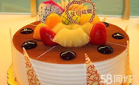 可爱小猴三层蛋糕图片