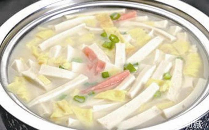 三鲜豆腐 老醋花生米
