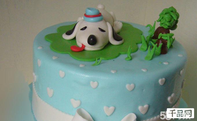 市北区团购 青岛其他美食团购 03116元美糕美创意蛋糕6寸翻糖蛋糕1
