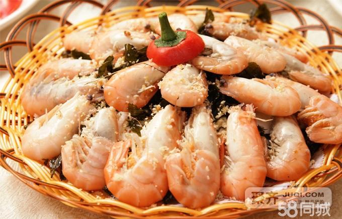 广州团购 团购  茶黄焗鲜虾  大虾最普通的海鲜美食,茶叶是最神奇的