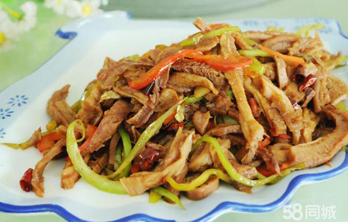 回锅牛头肉,回锅全羊,辣炒牛小肚,凉拌羊脸,辣炒花蛤,韭香鱿鱼,干炸蘑