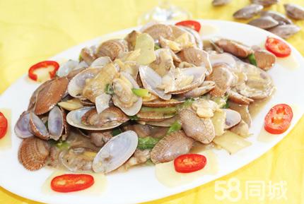 市场价618元的严味老牌海鲜餐厅10人套餐一份:清蒸包公鱼 美味海虾