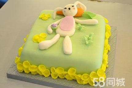 仅售128元,市场价380元的千滋百味翻糖蛋糕一个,仅限北京五环内地区免