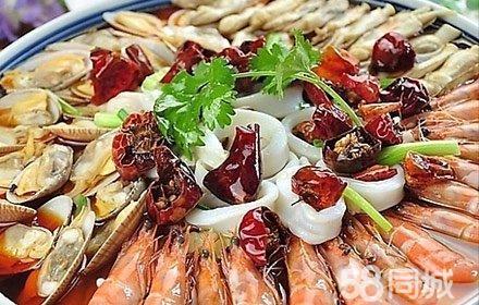 仅售388元,市场价717元的虾兵蟹将海鲜餐厅8-10人餐,节假日通用,各式
