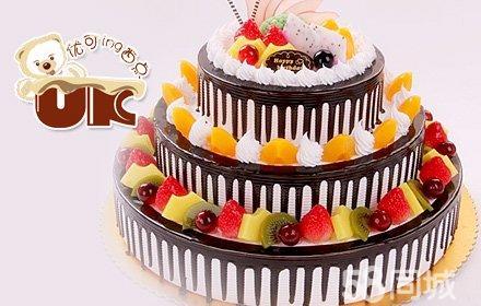 优可味丰:三层水果蛋糕1款