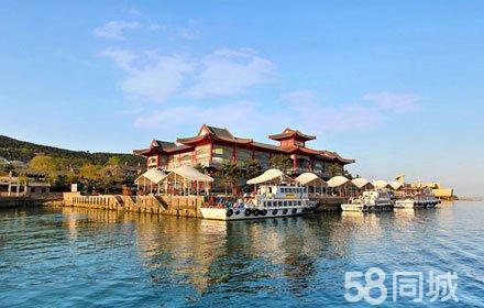 威海刘公岛景区地图