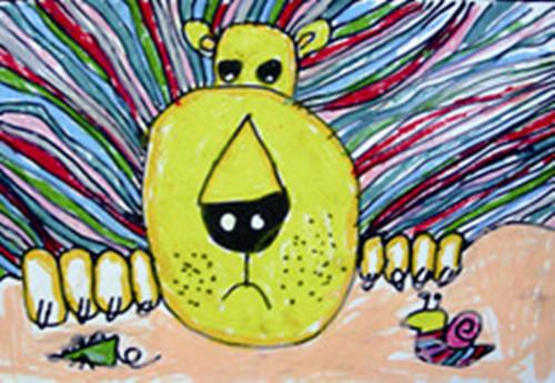 幼儿绘画森林的故事