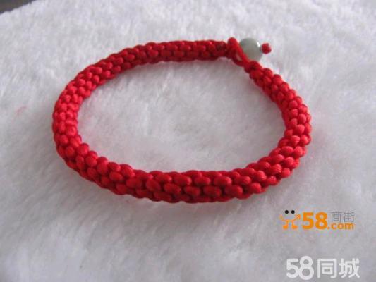 红绳玉珠手链 玉米结编织手链 转运手链
