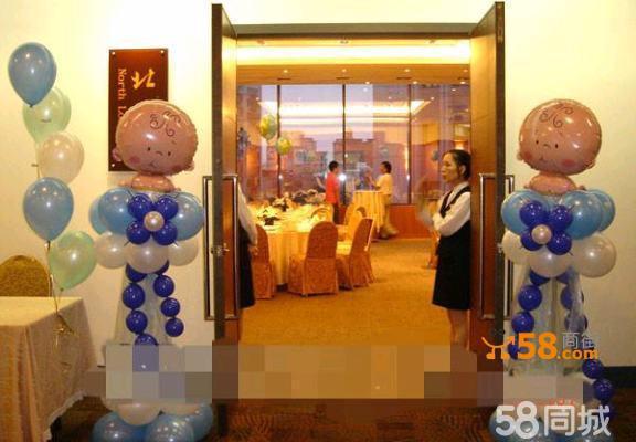 北京气球造型制作,气球墙