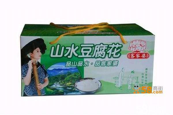 惠州罗浮山客家特产客家婆山水豆腐花