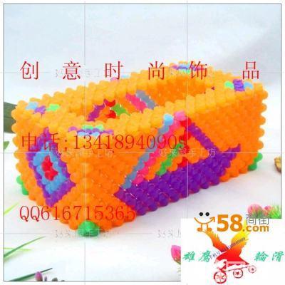 串珠diy纸巾盒—58商家店铺