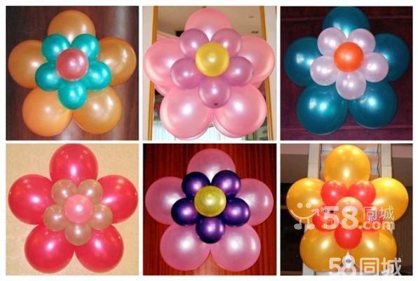 店面门头气球造型装饰,用气球布置店面图片,店面 ...
