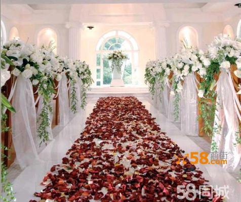 婚庆布置 路引花柱