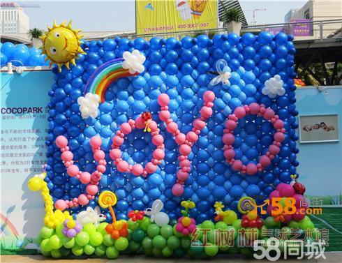 深圳婚礼婚庆典礼气球艺术布置—58商家店铺图片