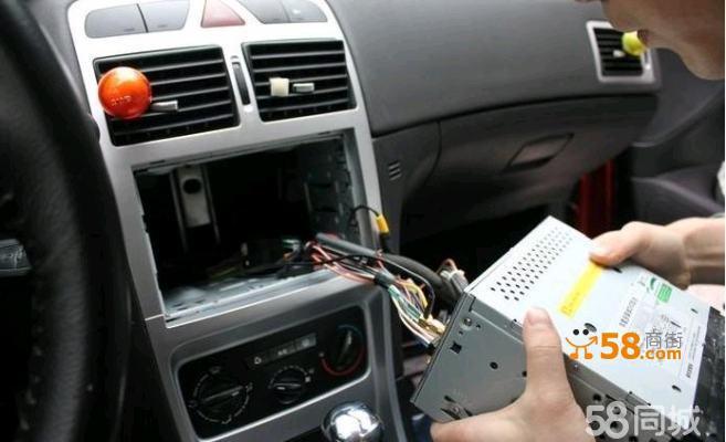 路畅lc品牌dvd导航安装带倒车影像适用于别克凯越