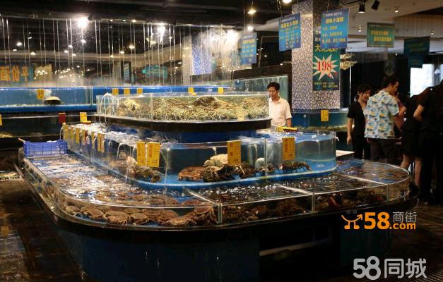 海鲜池排缸—58商家店铺