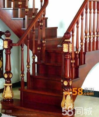 整木楼梯欧式,中式