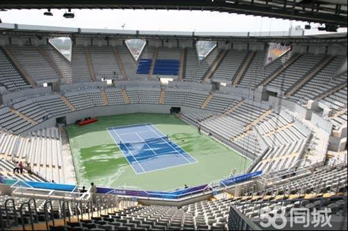 国家网球中心映月球场