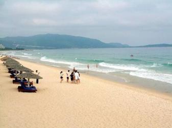 青岛市黄岛区金沙滩风景区